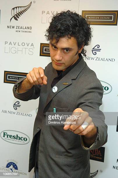 Taika Waititi during Fourth Annual Celebration of New Zealand Filmmaking and Creative Talent Pre Oscar Dinner at The Beverly Hills Hotel in Beverly...