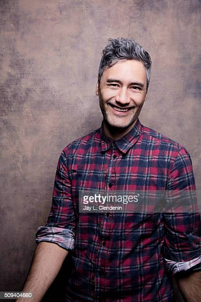 Taika Waititi of 'Hunt for the Wilderpeople' poses for a portrait at the 2016 Sundance Film Festival on January 24 2016 in Park City Utah CREDIT MUST...