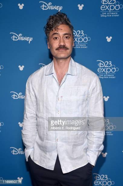 Taika Waititi of 'The Mandalorian' took part today in the Disney+ Showcase at Disney's D23 EXPO 2019 in Anaheim, Calif. 'The Mandalorian' will stream...