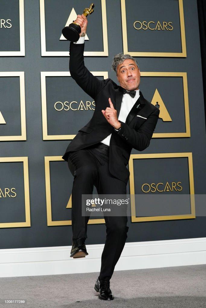 92nd Annual Academy Awards - Press Room : News Photo