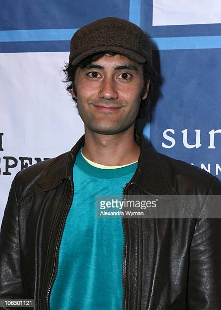Taika Waititi writer/director during Film Independent 'Eagle vs Shark' Screening at Laemmle Sunset 5 in Hollywood California United States