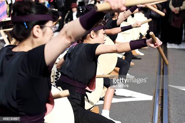和太鼓パフォーマーでおはら祭