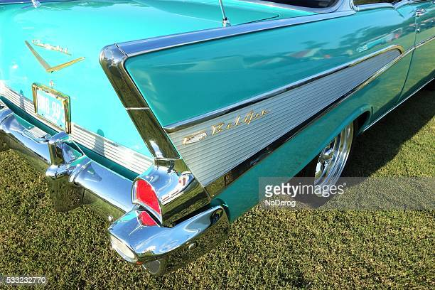Tail fin on vintage Chevy Bel Air