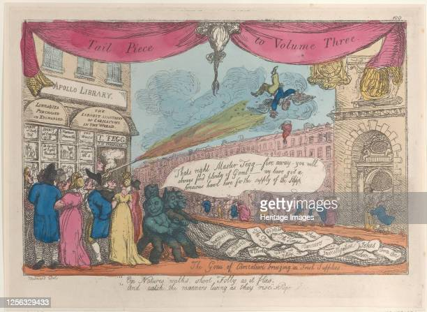 The Genii of Caricature Bringing in Fresh Supplies 180821 Artist Thomas Rowlandson