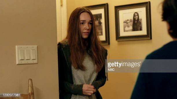 "Tailfin"" Episode 301 -- Pictured in this screen grab: Holly Taylor as Angelina --"