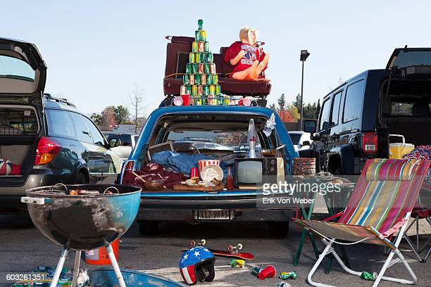 tailgate party scene