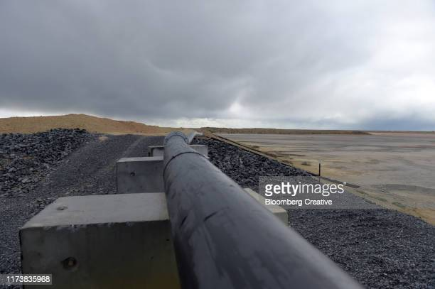 tailings from gold mining operations - bendigo stock pictures, royalty-free photos & images