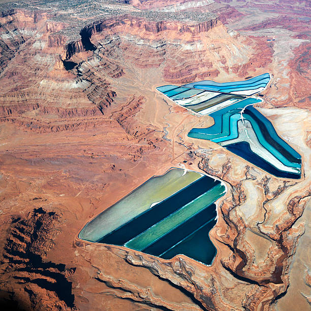 Tailings Ponds Wall Art