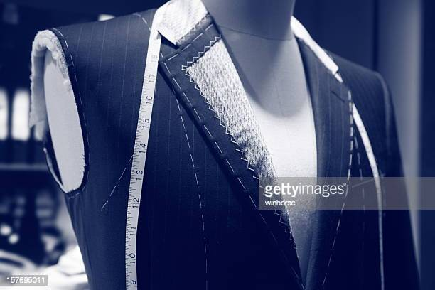 tailor closeup - thimble stock photos and pictures