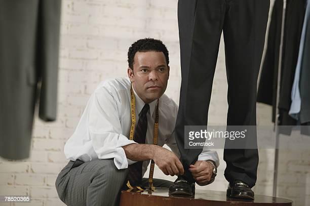 Tailor hemming pants