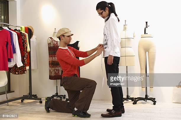 Tailor measuring