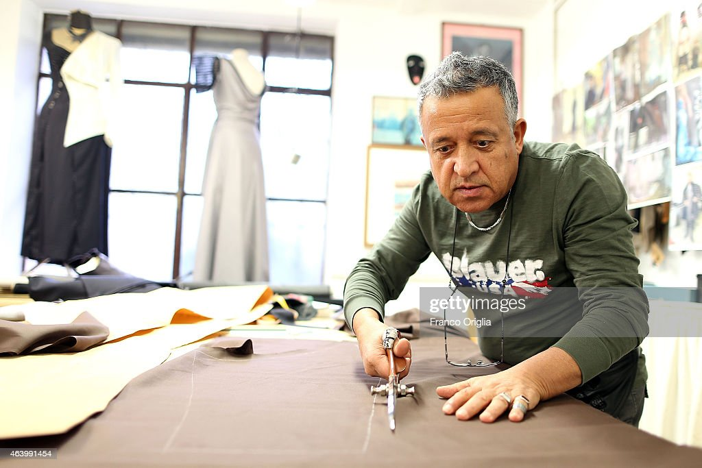 Tailor Roberto Misciali works at the Tirelli Atelier on February 20, 2015 in Rome, Italy. The costumier Tirelli was established in 1964 and is responsible for the creation of costumes for films and well-known productions, including almost all of Luchino Visconti's films (designed by Piero Tosi). Tirelli has created costumes for a great many films for which it has won Academy Awards as well as other awards for Best Costume (Amadeus, Casanova, Cyrano, The English Patient, Age of Innocence, Marie Antoinette etc.).