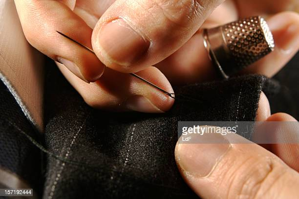 テイラードのビジネススーツ - 裾 ストックフォトと画像