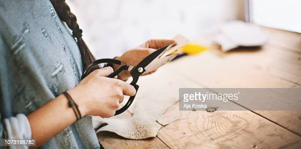 tailoring skill. - scissors stock pictures, royalty-free photos & images
