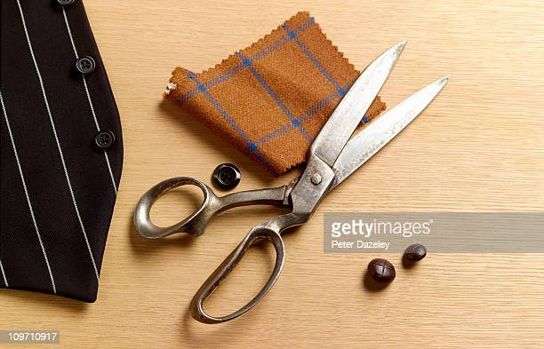 tailoring still life - tailor stock pictures, royalty-free photos & images