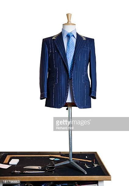 A tailors dummy against a white background