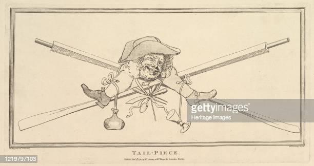 TailPiece November 27 1781 After William Hogarth Artist Richard Livesay