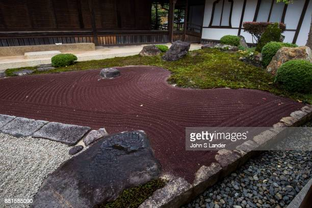 Taimadera the Inner Temple is called Okunoin and contains a Pure Land or Jyodo Garden rare in Japan It is the largest garden representing the...
