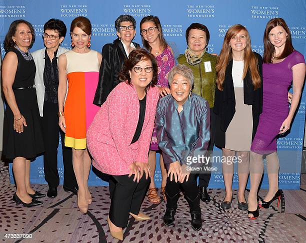 Taina BienAime Ana Oliveira Jean Shafiroff Lisa Holton guest Kwanghee Kim Melody Oliphant guest Helen Kim and Aiyoung Choi attend The New York...