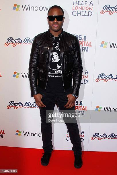 Taio Cruz attends the Capital FM Jingle Bell Ball Day 1 at 02 Arena on December 5 2009 in London England