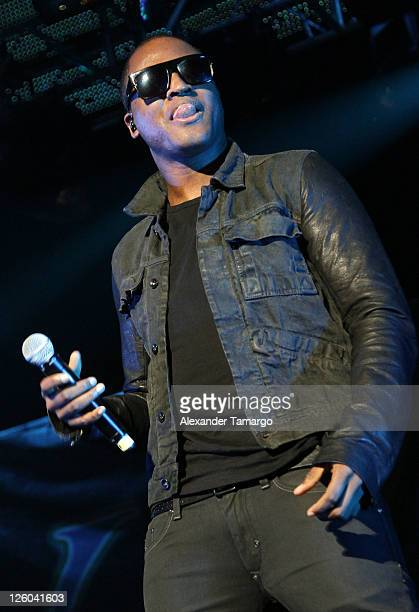 Taio Cruz performs during the Y100 Jingle Ball at BankAtlantic Center on December 11 2010 in Sunrise Florida