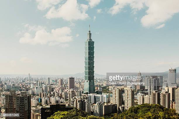 taipei 101 - taiwan stock photos and pictures