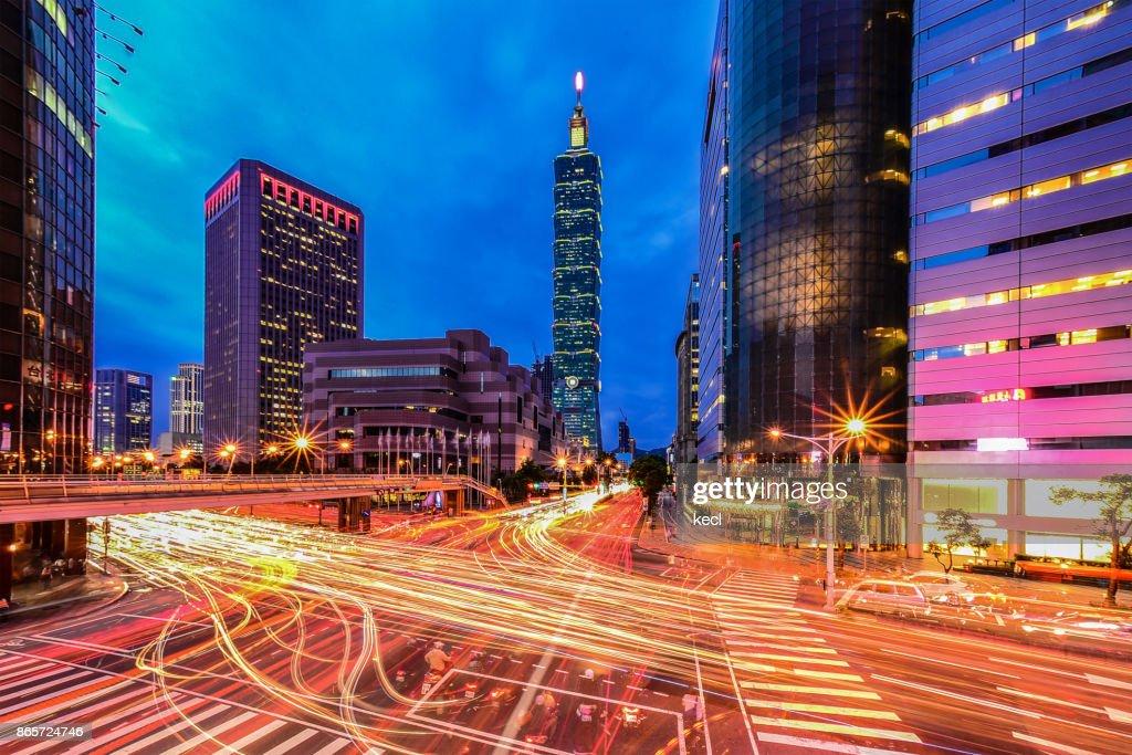 Taipei 101 Scraper : Stock Photo