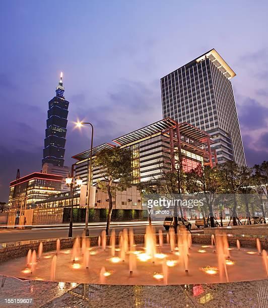 Taipei city night