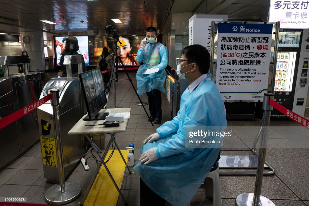 Taiwan Battles Against The Coronavirus Outbreak : News Photo