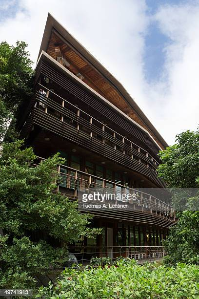 Taipei Public Library Beitou Branch in Taiwan
