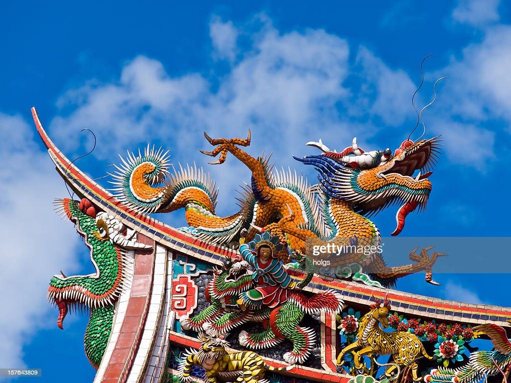 Taipei temple, Taiwan : Stock Photo