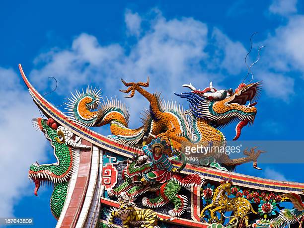 taipei temple, taiwan - taipei stock pictures, royalty-free photos & images