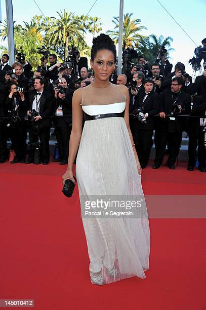 Tais Araujo attends the 'Killing Them Softly' Premiere during 65th Annual Cannes Film Festival at Palais des Festivals on May 22 2012 in Cannes France