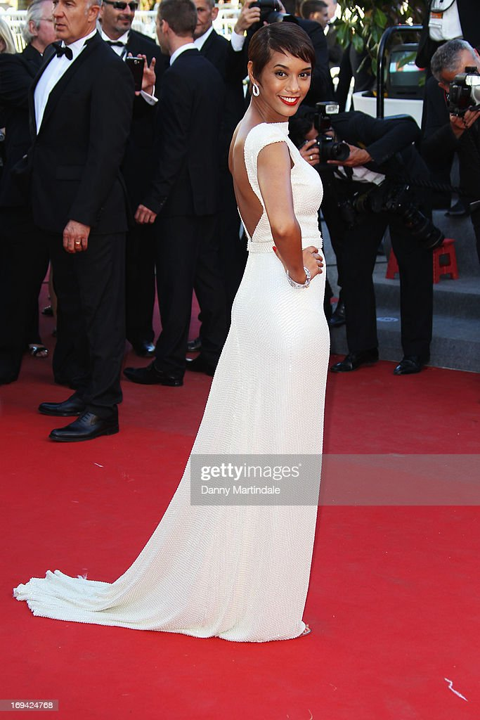 Tais Araujo attends the Premiere of 'The Immigrant' at The 66th Annual Cannes Film Festival at Palais des Festivals on May 24, 2013 in Cannes, France.