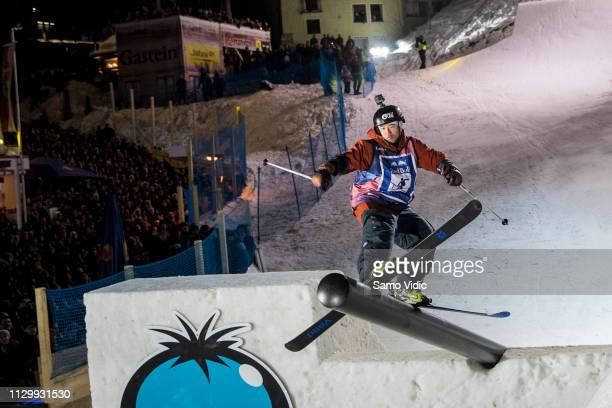 Taisei Yamamoto of Japan competes during the Red Bull Playstreets on February 15 2019 in Bad Gastein Austria