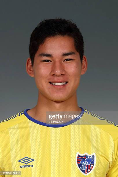 Taishi Brandon Nozawa poses for photographs during the FC Tokyo portrait session on January 9, 2020 in Japan.