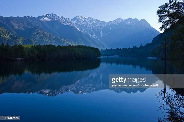 Taisho Pond, Nagano Prefecture, Japan