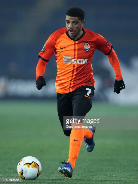 Taison of FC Shakhtar Donetsk during the UEFA Europa League match between Shakhtar Donetsk v Benfica at the OSK Metalist Stadion on February 20 2020...