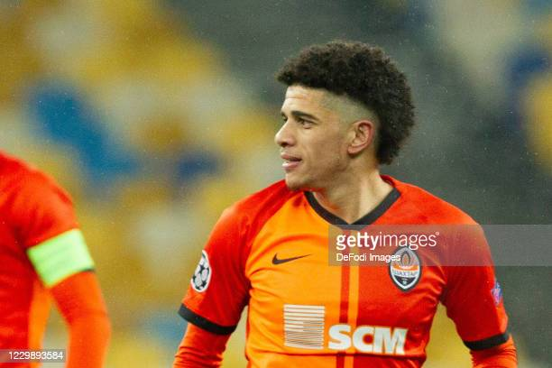 Taison of Shakhtar Donetsk looks on during the UEFA Champions League Group B stage match between Shakhtar Donetsk and Real Madrid at Metalist Stadium...