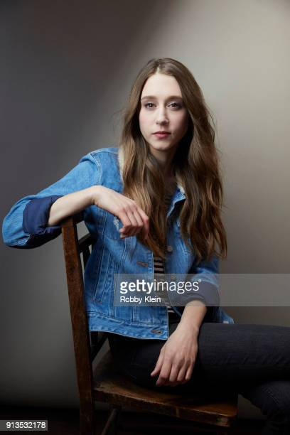 Taissa Farmiga from the film 'What They Had' pose for a portrait in the YouTube x Getty Images Portrait Studio at 2018 Sundance Film Festival on...
