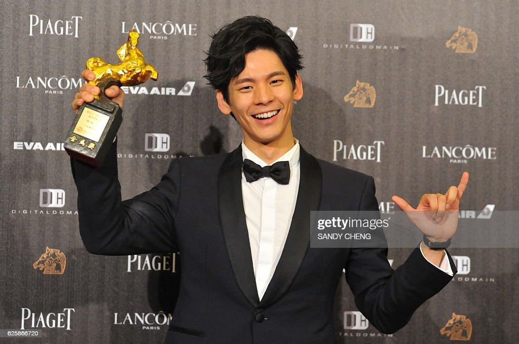 TAIWAN-ENTERTAINMENT-FILM-CHINA-HONGKONG : News Photo