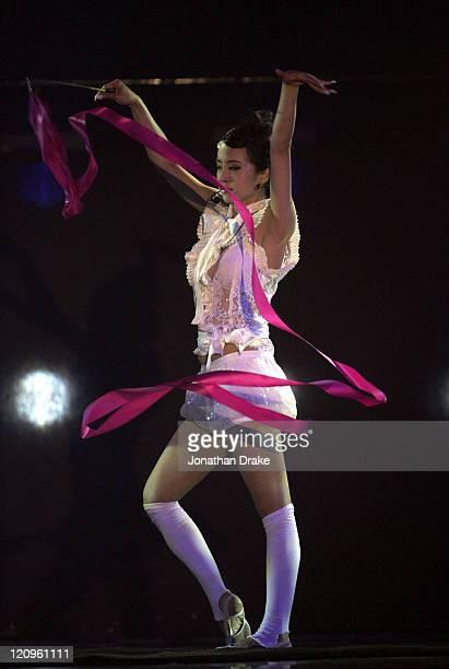 Taiwan performer Jolin Tsai during 2006 MTV Asia Awards Show at Siam Paragon in Bangkok Thailand