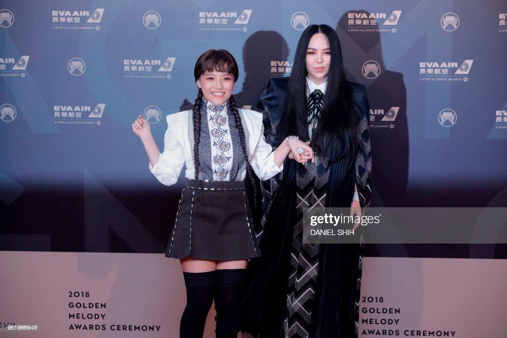 TAIWAN-MUSIC-AWARDS : News Photo