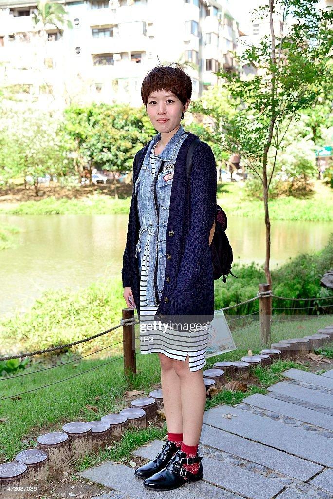 201504 Taiwan Taipei East Zone Songyan street fashion : News Photo