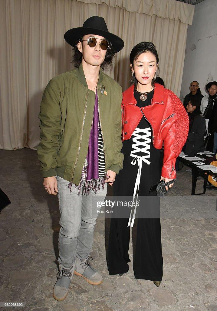 Walter Van Beirendonck : Front Row - Paris Fashion Week - Menswear F/W 2017-2018
