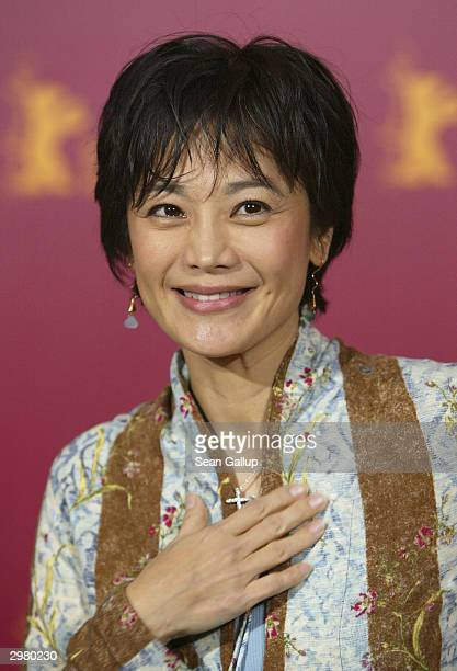 """Taiwanese actress and director Sylvia Chang attends the photocall to the Hong Kong/Taiwanese film """"20:30:40"""" at the 54th annual Berlinale..."""