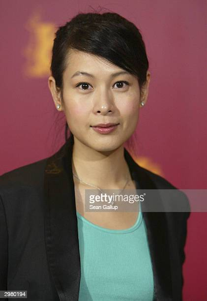 """Taiwanese actress Rene Liu attends the photocall to the Hong Kong/Taiwanese film """"20:30:40"""" at the 54th annual Berlinale International Film Festival..."""