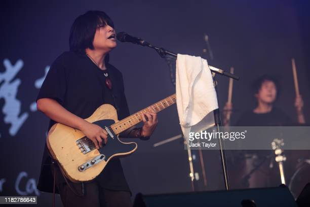 Taiwanese band No Party For Cao Dong perform on day one of the Maho Rasop Festival 2019 on November 16 2019 in Bangkok Thailand