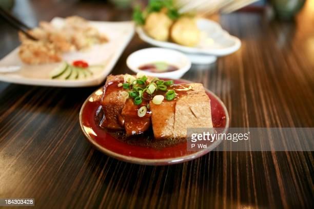台湾 Stinking 揚げ豆腐