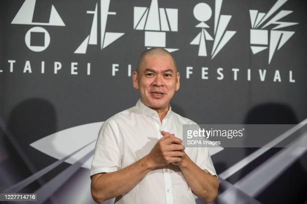 Taiwanese film director Tsai MingLiang attends a press conference as he promotes his new film ''Days / Rizi' during the Taipei film festival The film...